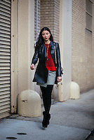 Lily Kwong attends Day 8 of New York Fashion Week on Feb 19, 2015 (Photo by Hunter Abrams/Guest of a Guest)