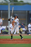 GCL Pirates Andres Alvarez (68) at bat during a Gulf Coast League game against the GCL Rays on August 7, 2019 at Charlotte Sports Park in Port Charlotte, Florida.  GCL Rays defeated the GCL Pirates 4-1 in the first game of a doubleheader.  (Mike Janes/Four Seam Images)