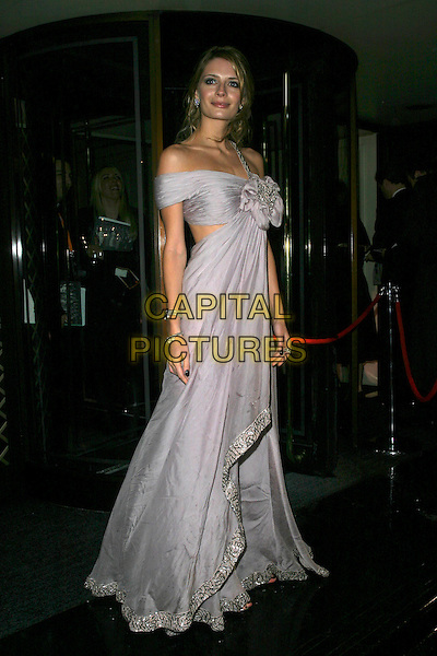 MISCHA BARTON.The Orange British Academy Film Awards aftershow & Grosvenor House Hotel, London, UK..February 19th, 2006.Ref: AH.full length purse dress one shoulder wrap flower gathered.www.capitalpictures.com.sales@capitalpictures.com.© Capital Pictures.