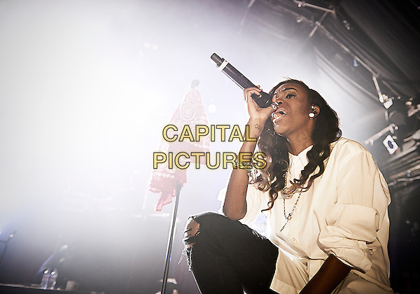 LONDON, ENGLAND - MARCH 11, 2014: Angel Haze performing at Heaven on March 11th, 2014 in London, England.<br /> CAP/RJB<br /> &copy;RJB/Capital Pictures
