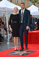 Actor Ryan Reynolds &amp; mother Tammy Reynolds at the Hollywood Walk of Fame Star Ceremony honoring actor Ryan Reynolds.<br /> Los Angeles, CA. <br /> December 15, 2016<br /> Picture: Paul Smith/Featureflash/SilverHub 0208 004 5359/ 07711 972644 Editors@silverhubmedia.com