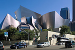 Walt Disney Concert Hall, designed by architect Frank Gehry, Los Angeles, California