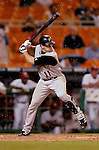 29 June 2005: Humberto Cota, catcher for the Pittsburgh Pirates, at bat during a game against the Washington Nationals. The Nationals rallied to defeat the Pirates 3-2 in a rain delayed game at RFK Stadium in Washington, DC.  Mandatory Photo Credit: Ed Wolfstein