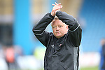 Chris Wilder manager of Sheffield Utd during the League One match at the Priestfield Stadium, Gillingham. Picture date: September 4th, 2016. Pic David Klein/Sportimage