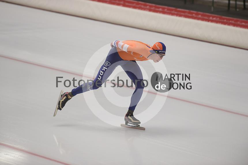 SPEEDSKATING: INZELL: Max Aicher Arena, 09-02-2019, ISU World Single Distances Speed Skating Championships, 10.000m Men, Jorrit Bergsma (NED), ©photo Martin de Jong