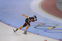 SCHAATSEN: SALT LAKE CITY: Utah Olympic Oval, 16-11-2013, Essent ISU World Cup, 1500m, Claudia Pechstein (GER), ©foto Martin de Jong