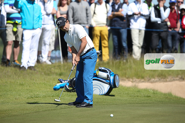 Fabrizio Zanotti (PAR) missing birdie on the 6th during Round Two of the 2015 Nordea Masters at the PGA Sweden National, Bara, Malmo, Sweden. 05/06/2015. Picture David Lloyd | www.golffile.ie