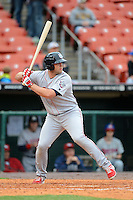 Lehigh Valley IronPigs outfielder Darin Ruf #15 during the first game of a double header against the Buffalo Bisons on June 7, 2013 at Coca-Cola Field in Buffalo, New York.  Buffalo defeated Lehigh Valley 4-3.  (Mike Janes/Four Seam Images)