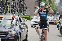 Michael Goolaerts (BEL/Vérandas Willems-Crelan) on bidon duty<br /> <br /> 10th Heistse Pijl 2017