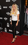 HOLLYWOOD, CA. - October 21: Bridget Marquardt arrives at the Hard Rock Cafe - Hollywood - Grand Opening on October 21, 2010 in Hollywood, California.