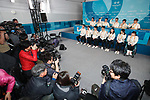 Nordic skiing team (JPN), MARCH 8, 2018 : Japanese Nordic Skiing team Press Conference at Paralympic Village during the PyeongChang 2018 Paralympics Winter Games in Pyeongchang, South Korea. (Photo by Sho Tamura/AFLO SPORT)