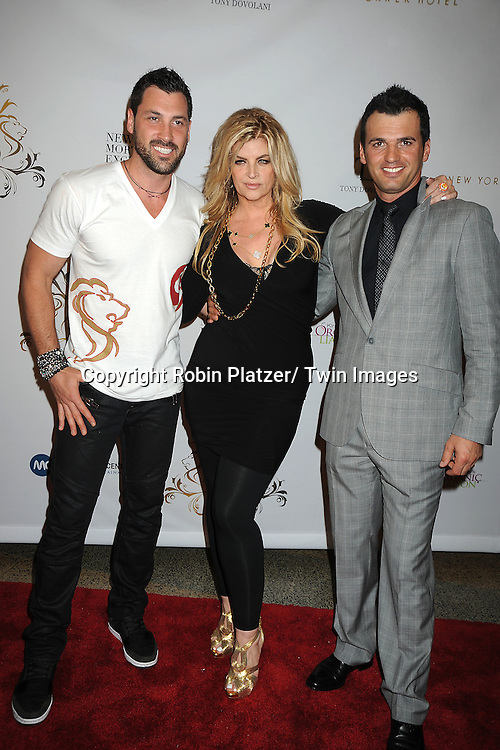 Maksim Chmerkovskiy, Kirstie Alley and tony Dovolani attending The Dance With Me Studios Presents All The Right Moves Summer Invitational Competition on June 5, 2011 at Manhattan Center in New York City. ..