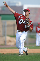 Temple University Owls infielder Josh Mason (13) during practice before a game against the University of Louisville Cardinals at Campbell's Field on May 10, 2014 in Camden, New Jersey. Temple defeated Louisville 4-2.  (Tomasso DeRosa/ Four Seam Images)