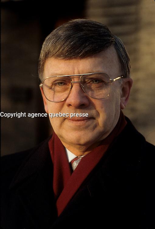 Germain Pregent<br />  undated file photo, circa 1988