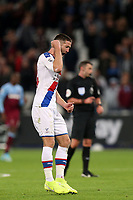 Gary Cahill of Crystal Palace celebrates the victory during West Ham United vs Crystal Palace, Premier League Football at The London Stadium on 5th October 2019