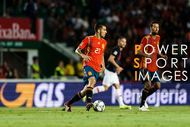 Daniel Ceballos of Spain (L) in action during their UEFA Nations League 2018-19 match between Spain and Croatia at Manuel Martínez Valero on September 11 2018 in Elche, Spain. Photo by Diego Souto / Power Sport Images