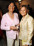 Edith King and Cheryl Solomon at the 2010 Power of Legacy Soiree benefitting th American Heart Association at the Hobby Center Friday April 23,2010.. (Dave Rossman Photo)