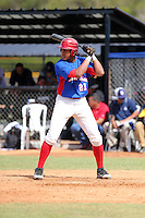 Danny De Jesus Contreras participates in the International Prospect League Showcase at the New York Yankees academy in Boca Chica, Dominican Republic on January 24, 2014 (Bill Mitchell)