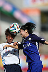 Mai Kyokawa (INAC),<br /> JUNE 15, 2014 - Football / Soccer : 2014 Nadeshiko League, between AS ELFEN SAITAMA 1-3 INAC KOBE LEONESSA at NACK 5 Stadium Omiya, Saitama, Japan. (Photo by Jun Tsukida/AFLO SPORT)