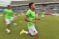 Orlando, FL - Monday June 06, 2016: Bolivia during warmups prior to a Copa America Centenario Group D match between Panama (PAN) and Bolivia (BOL) at Camping World Stadium.