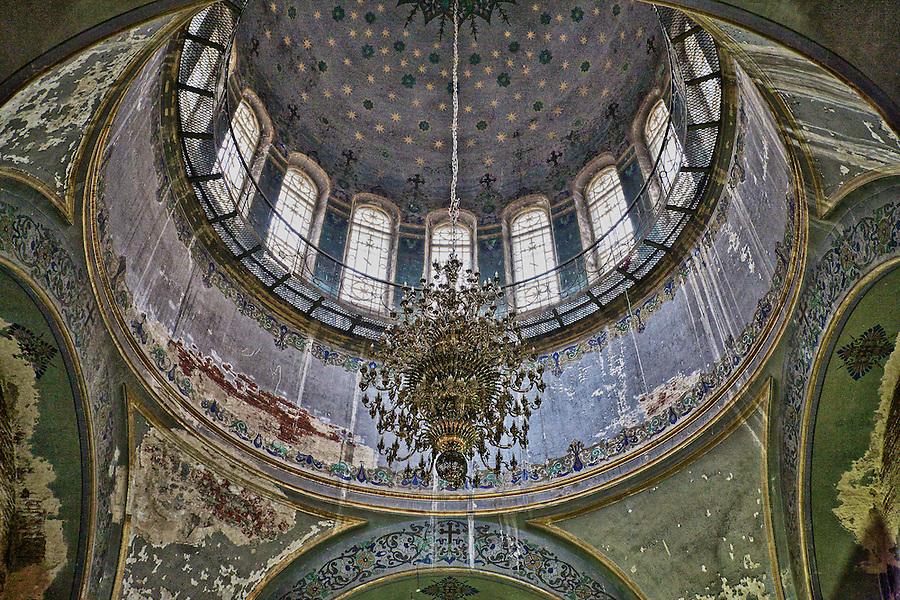 Inside The Dome, St. Sophia's Church, Ha'erbin.