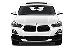 Car photography straight front view of a 2018 BMW X2 Standard 5 Door SUV