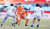 Marcos Kremer of the Jaguares during the Super Rugby match between the Vodacom Bulls and the Jaguares at Loftus Versfeld in Pretoria, South Africa on Saturday, 7 July 2018. Photo: Steve Haag / stevehaagsports.com