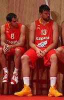 presentacion seleccion Española de baloncesto,29 junio 2012