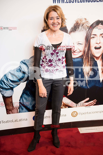 "Maria Pujalte attends to the premiere of the theater play ""Los Vecinos de Arriba"" of the director Cesc Gayt at Teatro La Latina in Madrid. April 13, 2016. (ALTERPHOTOS/Borja B.Hojas)"