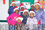 CHRISTMAS CONCERT: Enjoying a great time at the Multicultural Christmas Concert at the Presentation Convent primary school, Tralee on Saturday are Abraham Dike, Christabel Eghareuba, Jason Eghareuba, Simi Ogunbine, Lihle Hadebe, Nkechi Dike, Alicia Babalola and El-basit Falade..