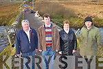 Furious residents in Dromid have had to endure a bridge closure since the end of March 2012 with no time frame for repair work to be carried out on Cahersivane Bridge, pictured here l-r; James O'Sullivan & James Curran, Hannie Curran &  Donie Curran.