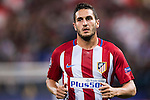 Koke of Atletico Madrid in action during their 2016-17 UEFA Champions League match between Atletico Madrid vs FC Bayern Munich at the Vicente Calderon Stadium on 28 September 2016 in Madrid, Spain. Photo by Diego Gonzalez Souto / Power Sport Images