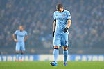Edin Dzeko of Manchester City looks dejected - Manchester City vs. CSKA Moscow - UEFA Champions League - Etihad Stadium - Manchester - 05/11/2014 Pic Philip Oldham/Sportimage