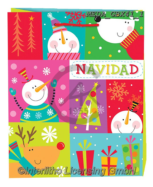 Dreams, CHRISTMAS ANIMALS, WEIHNACHTEN TIERE, NAVIDAD ANIMALES, paintings+++++,MEDAGBX41/1,#XA# ,sticker,stickers