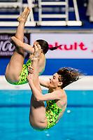 KEENEY Maddison, SMITH Anabelle AUS<br /> Diving <br /> Women's 3m Synchro Springboard Preliminary<br /> Day 04 17/07/2017 <br /> XVII FINA World Championships Aquatics<br /> Duna Arena Budapest Hungary July 15th - 30th 2017 <br /> Photo @A.Masini/Deepbluemedia/Insidefoto