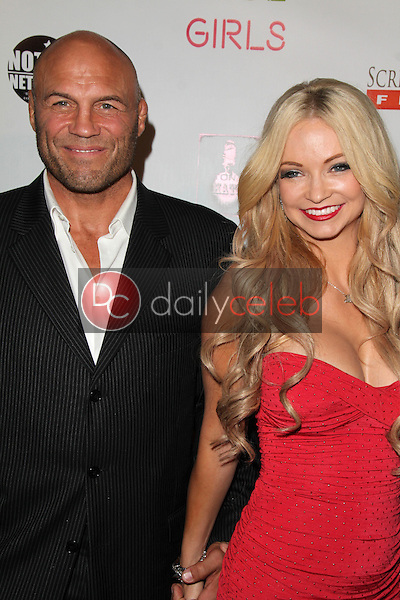 Randy Couture, Mindy Robinson<br /> at the &quot;Live Nude Girls&quot; Los Angeles Premiere, Avalon, Hollywood, CA 08-12-14<br /> David Edwards/DailyCeleb.com 818-249-4998