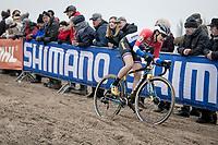 Lucinda Brand (NED/Telenet-Baloise Lions)<br /> <br /> Women's Race<br /> UCI cyclocross WorldCup - Koksijde (Belgium)<br /> <br /> ©kramon