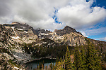Surprise Lake, near Amphitheatre Lake, 3000m up in Grand Teton National Park