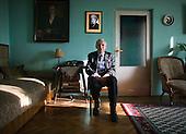 Warsaw 10 December 2008 Poland.<br /> Wieslaw Marian Chrzanowski (b. December 20, 1923 in Warsaw, Poland) is a Polish nationalist politician, lawyer, from 1991 to 1993 Sejm Marshal.<br /> (&copy; Filip Cwik / Napo Images dla Newsweek Polska)<br /> <br /> Warszawa 10 grudnia 2008 Polska.<br /> Wieslaw Marian Chrzanowski (ur. 20 grudnia 1923 w Warszawie) polski profesor nauk prawnych, adwokat, zolnierz Armii Krajowej, powstaniec warszawski, polityk, tworca ZChN, posel i marszalek Sejmu I kadencji, senator IV kadencji, minister sprawiedliwosci i prokurator generalny w rzadzie Jana Krzysztofa Bieleckiego.<br /> (&copy; Filip Cwik / Napo Images dla Newsweek Polska)