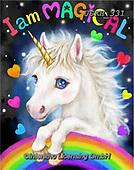 Kayomi, CUTE ANIMALS, LUSTIGE TIERE, ANIMALITOS DIVERTIDOS, paintings+++++,USKH331,#ac#, EVERYDAY ,unicorn,unicorns