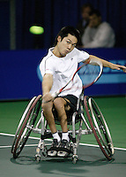 19-11-06,Amsterdam, Tennis, Wheelchair Masters, Shingo Kunieda