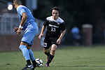 ELON, NC - AUGUST 25: Providence's Brendan Reardon. The University of North Carolina Tar Heels hosted the Providence College Friars on August 25, 2017 at Rudd Field in Elon, NC in a Division I college soccer game. UNC won the game 4-2.