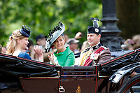 Trooping The Colour 2019<br /> LONDON, ENGLAND - JUNE 08: Sophie Duchess of Wessex, Edward Duke of Wessex at Trooping The Colour, the Queen's annual birthday parade, on June 08, 2019<br /> CAP/GOL<br /> ©GOL/Capital Pictures