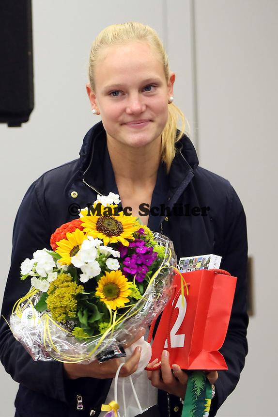 Hannah Mergenthaler - Empfang der Sportler der Leichtathletik EM in Zürich der MTG Mannheim