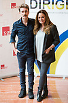 """Victor Clavijo and Carmen Morales attends to the photocall of the presentation of conferences """"Series juveniles que marcaron una generacion"""" by Dirige Association in Madrid, Spain. March 27, 2017. (ALTERPHOTOS/BorjaB.Hojas)"""