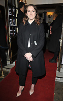 Charlotte Ritchie at the &quot;Betrayal&quot; play press night, The Harold Pinter Theatre, Panton Street, London, England, UK, on Wednesday 13th March 2019.<br /> CAP/CAN<br /> &copy;CAN/Capital Pictures