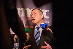 Willie Walsh CEO of International Airlines Groupat at MERC Partners Leadership Breakfast, Dublin.
