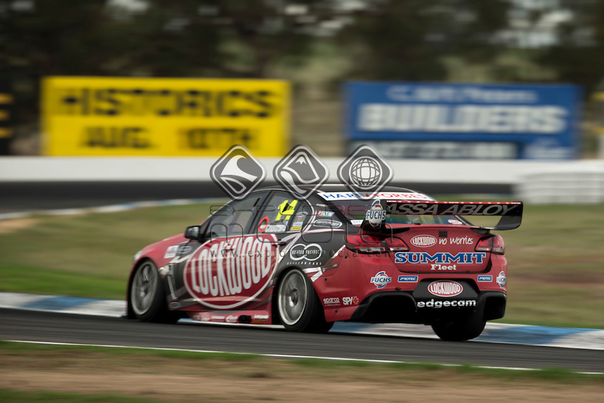 Fabian Coulthard of Brad Jones Racing during the Winton 400, Event 03 of the 2014 Australian V8 Supercars Championship Series at the Winton Motor Raceway, Winton, Victoria, April 04, 2014.<br /> <br /> <br /> <br /> <br /> &copy; Sport the library / Mark Horsburgh<br /> &copy; Sport the library / Mark Horsburgh