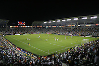 Home Depot Center packed house. CD Chivas USA defeated the LA Galaxy 3-0 in the Super Classico MLS match at the Home Depot Center in Carson, California, Thursday, August 23, 2007.