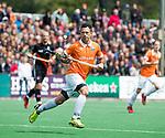 BLOEMENDAAL   - Hockey - Jamie Dwyer (Bldaal).  3e en beslissende  wedstrijd halve finale Play Offs heren. Bloemendaal-Amsterdam (0-3).     Amsterdam plaats zich voor de finale.  COPYRIGHT KOEN SUYK